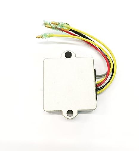 amazon com: voltage regulator for mercury mariner 856748 883071a1 883072  883072t outboards: automotive