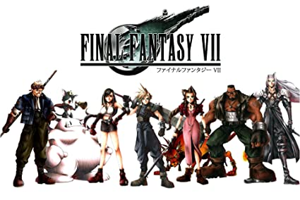 Cgc Huge Poster Final Fantasy Vii Characters Hd Remake Ps1 Ps3 Ps4 Psp Vita Fvii056 24 X 36
