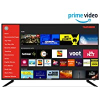 Telefunken 124 cm (49 Inches) 4K Ultra HD Smart LED TV TFK50QS (Black) (2019 Model) |With Quantum Luminit Technology