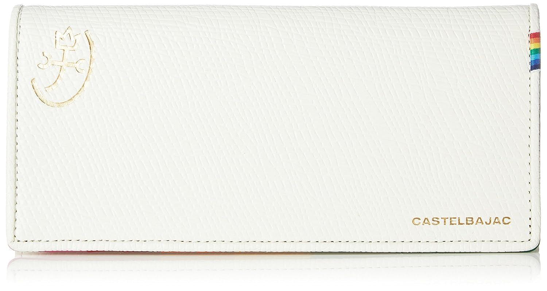 [カステルバジャック] 長財布 レインボー 79614 B079BNQZFR ホワイト ホワイト -