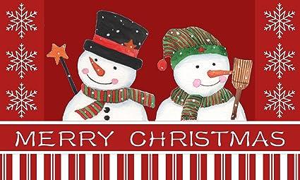 Amazon Com Christmas Kitchen Mats By Catalina Home Snowmen
