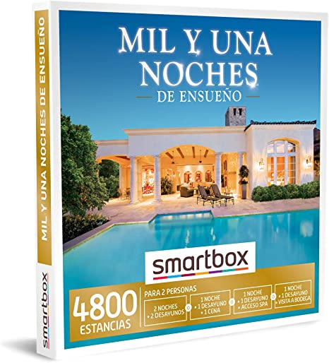 SMARTBOX - Caja Regalo - Mil y una Noches de ensueño - Idea de ...