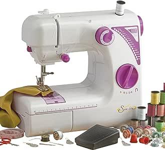 Sew Lite máquina de coser con pedal fácil de usar, compacto y ...