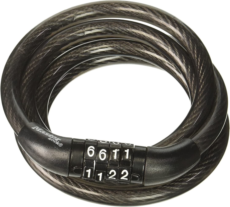 Master Lock 4/' Self Coil Bike Lock