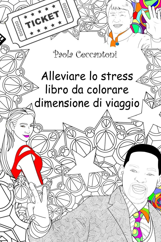 Amazoncom Alleviare Lo Stress Libro Da Colorare Dimensione Di