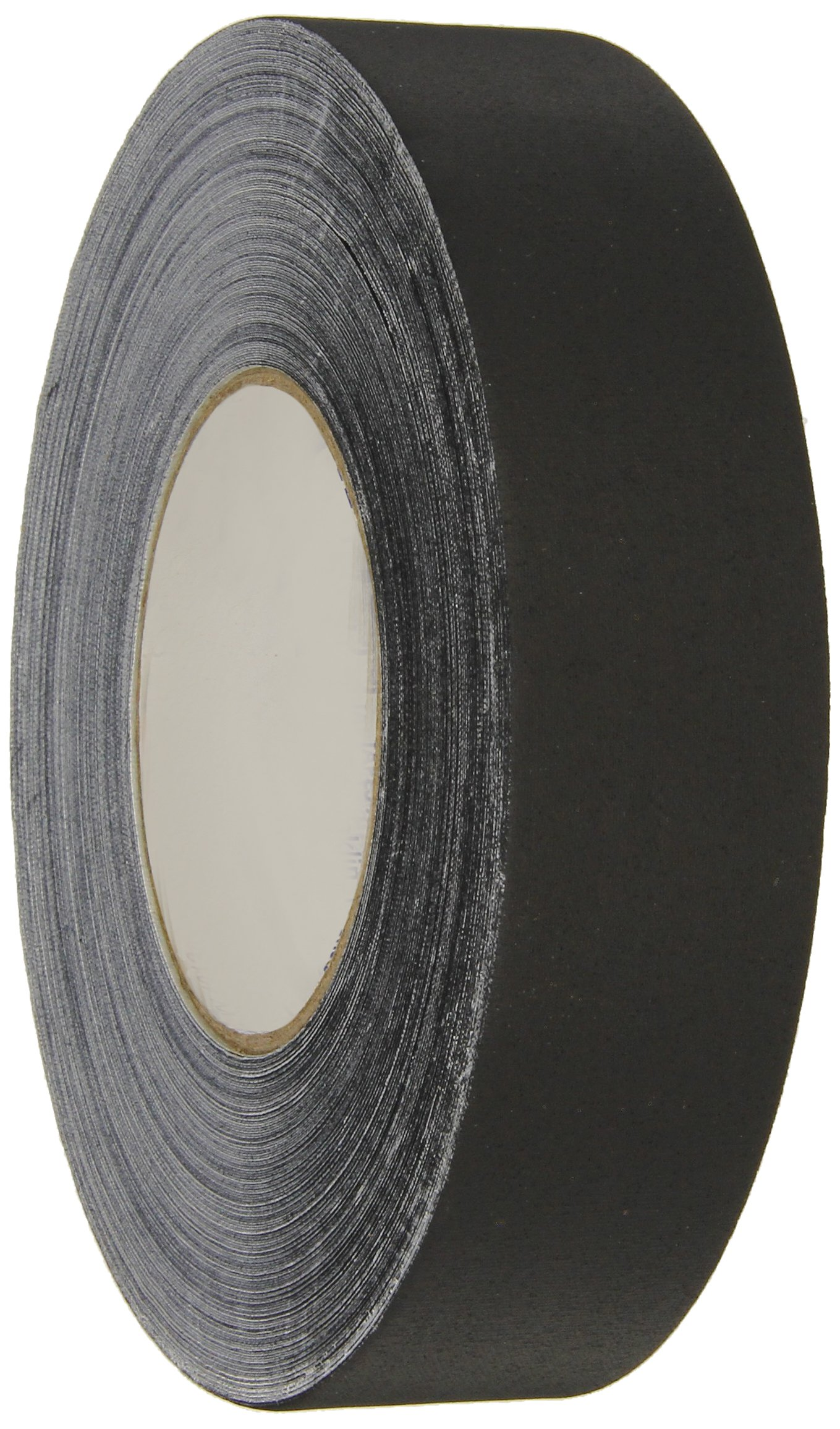 Polyken 510 Vinyl Coated Cloth Premium Gaffer's Tape, 11.5 mil Thick, 55 yds Length, 1-1/2 Width, Black