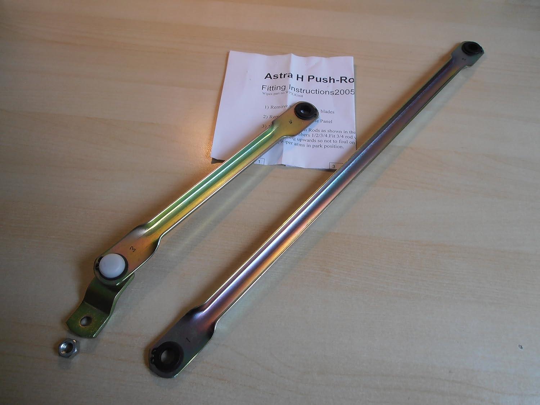 Astra - Brazo para limpiaparabrisas de Vauxhall Astra H (modelos 2005-2009): Amazon.es: Coche y moto
