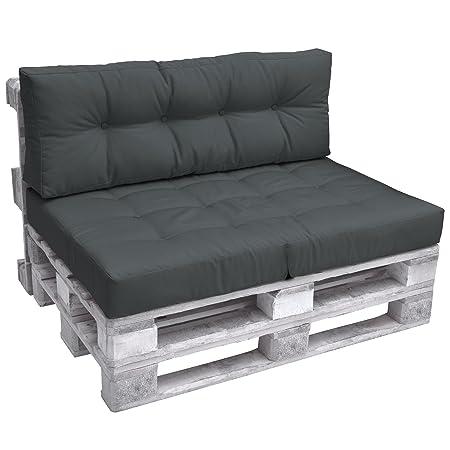 Beautissu Back Pad Eco Elements Euro Pallet Cushion Large Backrest