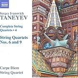 Taneyev:String Quartets 4 [Carpe Diem String Quartet] [NAXOS: 8573470]