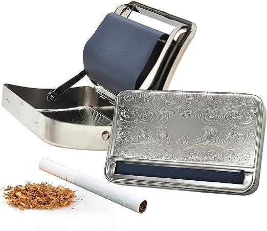 Caja automática de la caja del rodillo del cigarrillo de la máquina del balanceo de la hierba 110m m: Amazon.es: Bricolaje y herramientas