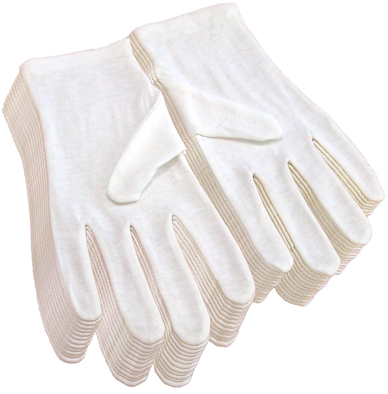 純綿100% コットン手袋 12双組 Mサイズ