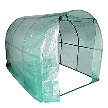 Serre en tunnel/avec bâche renforcée - pour fruits/légumes - grande ...