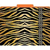 Barker Creek - Office Products Tiger Decorative File Folders, Letter, 1/3 Tabbed (LL-1321)