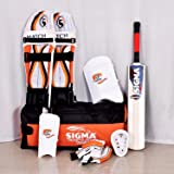 Sigma Match Complete Cricket Set (Color May Vary)