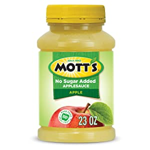 Motts Inc Apple Sauce, Natural, 23 oz