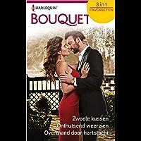 Zwoele kussen ; Onthutsend weerzien ; Overmand door hartstocht (Bouquet Favorieten Book 633)