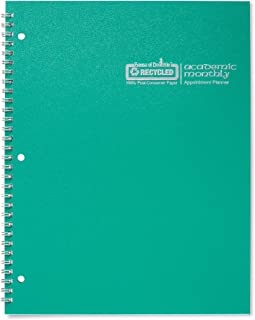 product image for House of Doolittle 2019-2020 Monthly Planner, Academic, Bright Green, 8.5 x 11 Inches, July - August (HOD26309-20)