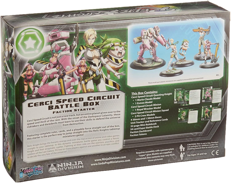 Ninja Division Cerci Speed Circuit Battle Box Game