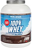 Body Attack 100% Whey Protein 2 x 2300g Dose Chocolate 2er Pack