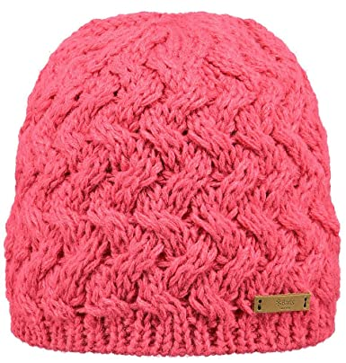 Barts Women s Swirlie Beanie hat - pink - One size  Amazon.co.uk  Clothing 1bf7d589a80f