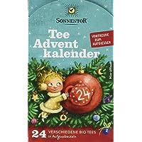 Sonnentor Tee Adventskalender Edition 2019 mit 24 Aufgussbeutel Bio, 2er Pack (2 x 37,5 g)