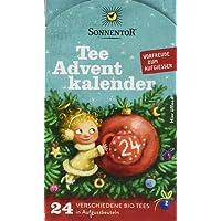 Sonnentor Tee Adventkalender Edition 2018 mit 24 Aufbussbeutel Bio, 2er Pack (2 x 38 g)