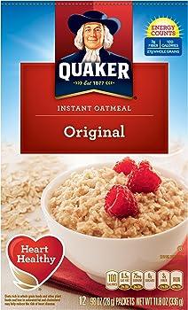 4-Pack Quaker 11.8 Oz. Instant Oatmeal Original