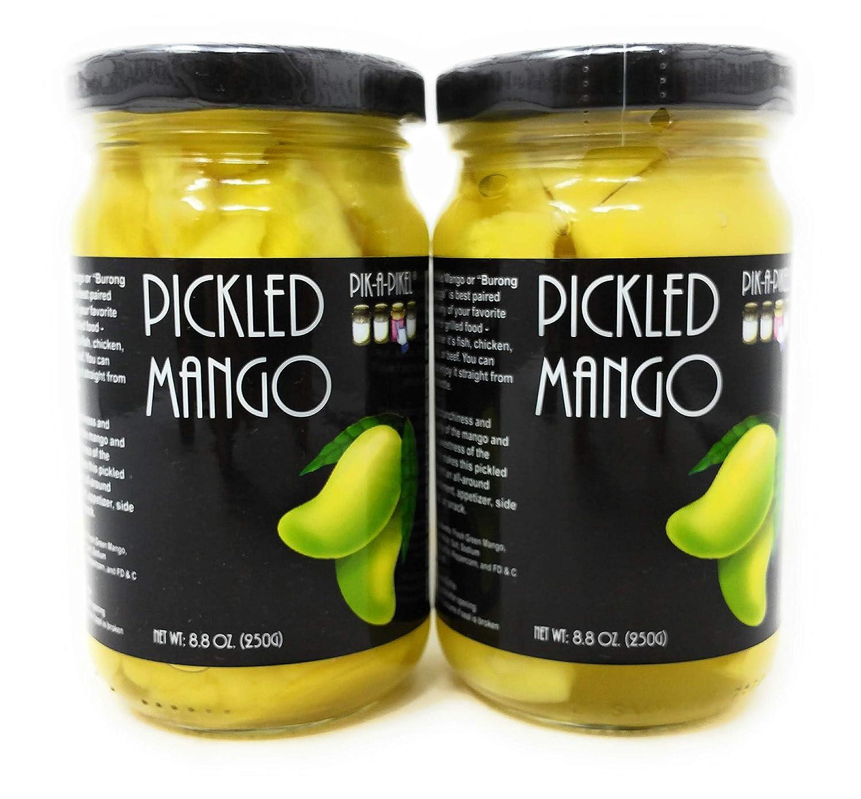 Pik-A-Pikel Pickled Mango, 8.8oz (250g), 2 Pack