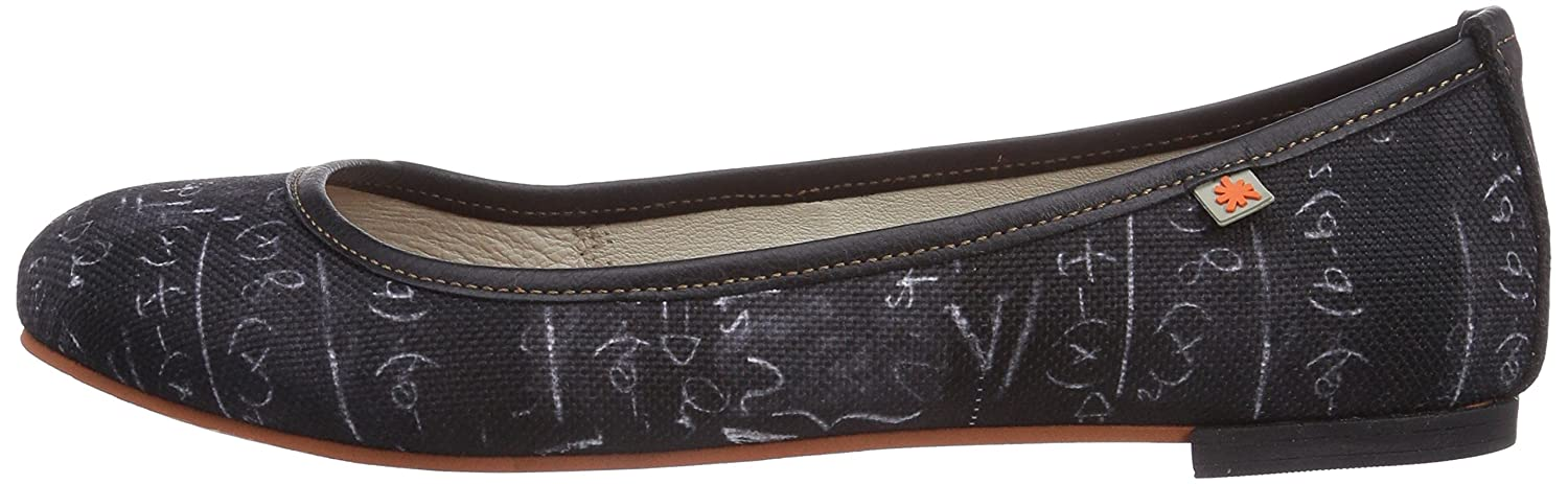 Art Womens Lille Fantasy Ballet Flats 39, 8 US Blackboard