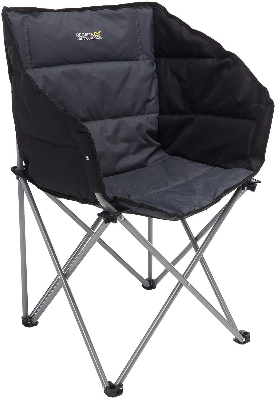 Regatta Navas椅子 – ブラック/ Sealグレー B018K8BLOC