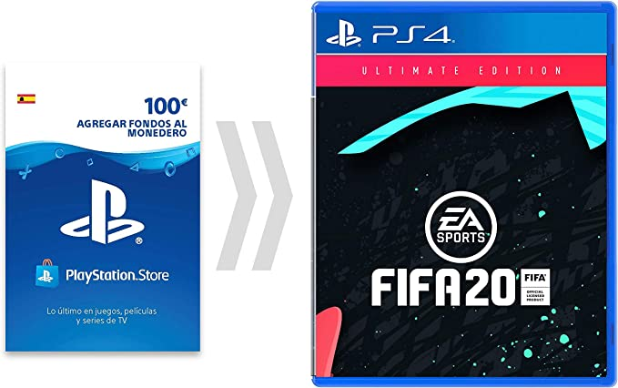100€ PSN Card Crédito por FIFA20 - Ulitmate Edition [Código de ...