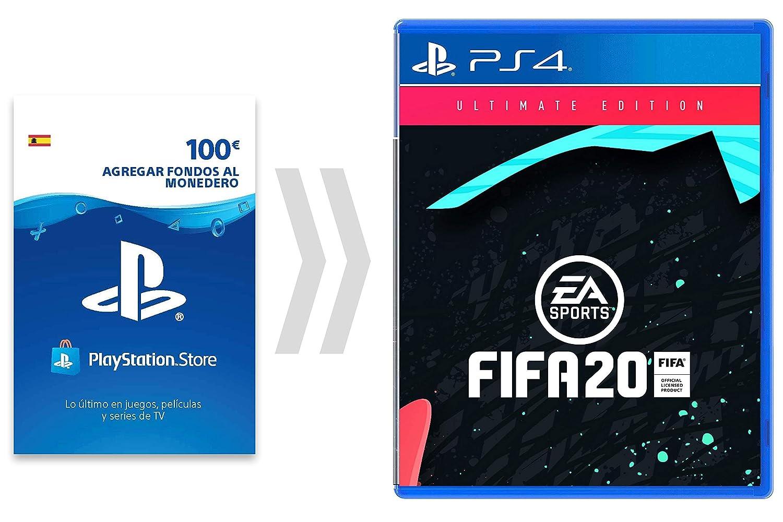 100€ PSN Card Crédito por FIFA20 - Ulitmate Edition [Código ...