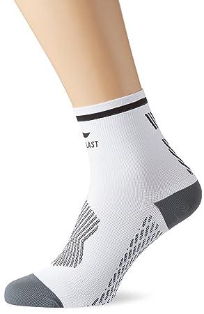 Sportlast Pro Calcetines de compresión, Blanco/Negro, M