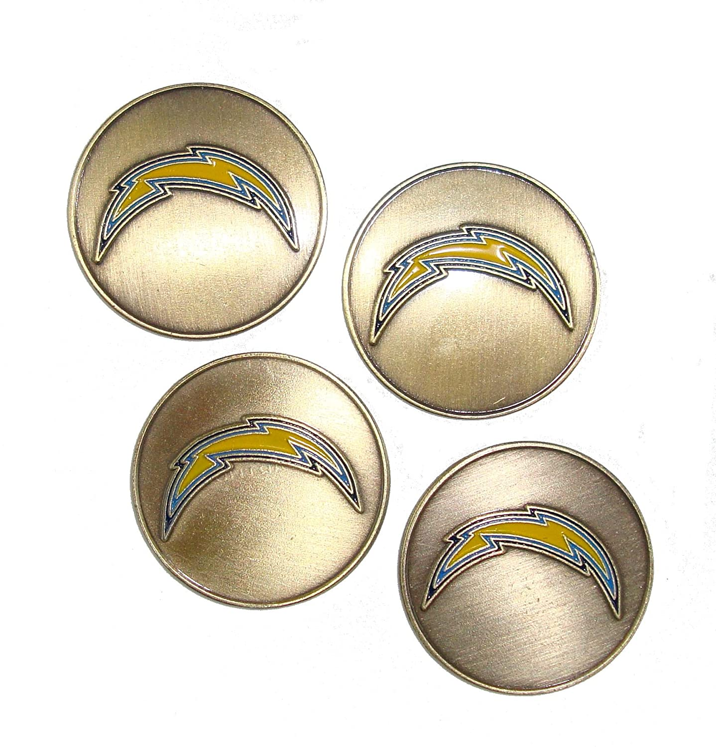 San Diego Chargers NFL Golf Ball Markers ( 4 Pack )   B077ZFH8X6