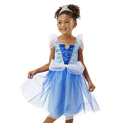 c8571737ccd3 Amazon.com: Disney Princess Keys to the Kingdom Glittery Cinderella Dress:  Toys & Games