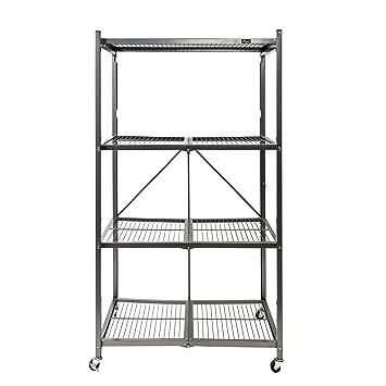 Amazon Origami General Purpose Foldable 4 Shelf Storage Rack