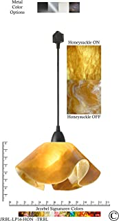 product image for Jezebel Signature JRBL-LP16-HON-TRBL Black Lily Track Light, Large, Honeysuckle