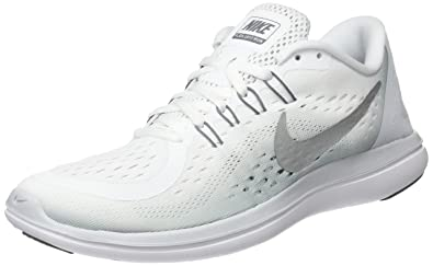 Image Unavailable. Image not available for. Color  Nike Women s Flex 2017 RN  White cbc0ca220