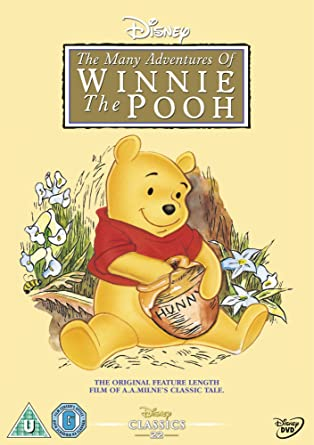 winnie the pooh the many adventures of winnie the pooh dvd amazon