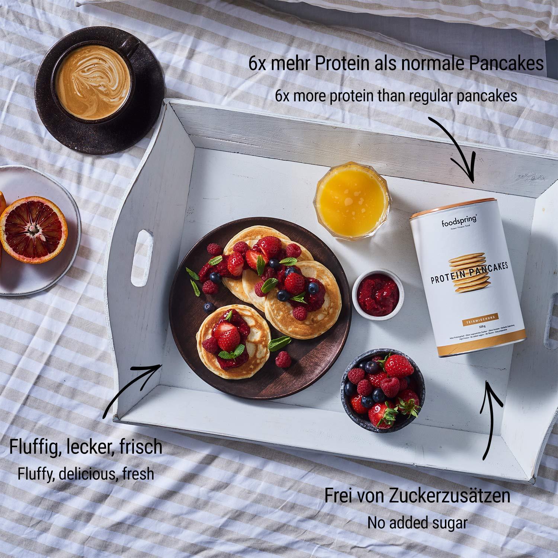foodspring Tortitas Proteicas, 320g, 6 veces más proteína que las normales: Amazon.es: Salud y cuidado personal