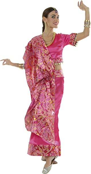 Cesar D322-004 - Disfraz de Bollywood, talla 38: Amazon.es ...