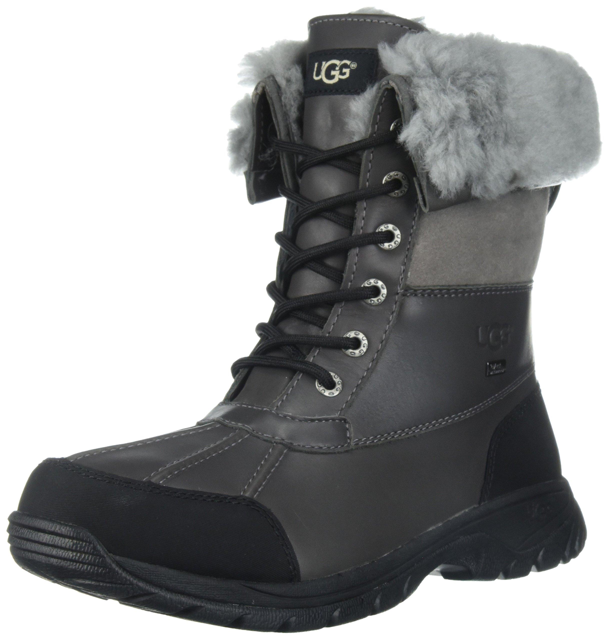 Ugg Men's Butte Snow Boot, Metal, 10.5 M US