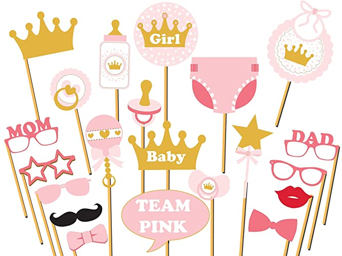 Custom Baby Shower Photo Booth Props   Size 36x24, Personalized Princess Baby  Shower, Royal