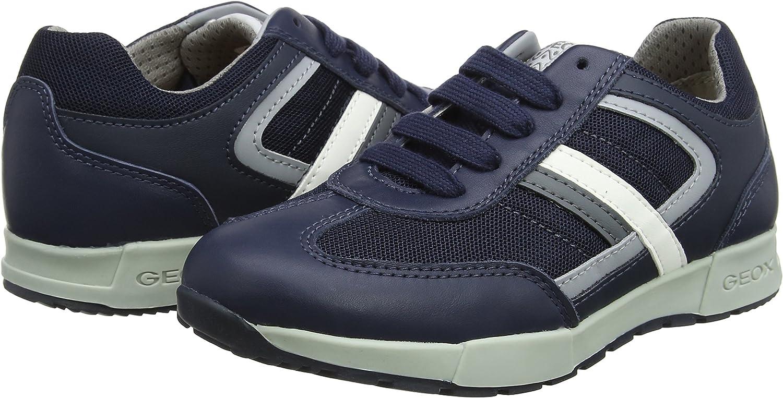 Geox Boys J Alfier B Low-Top Sneakers