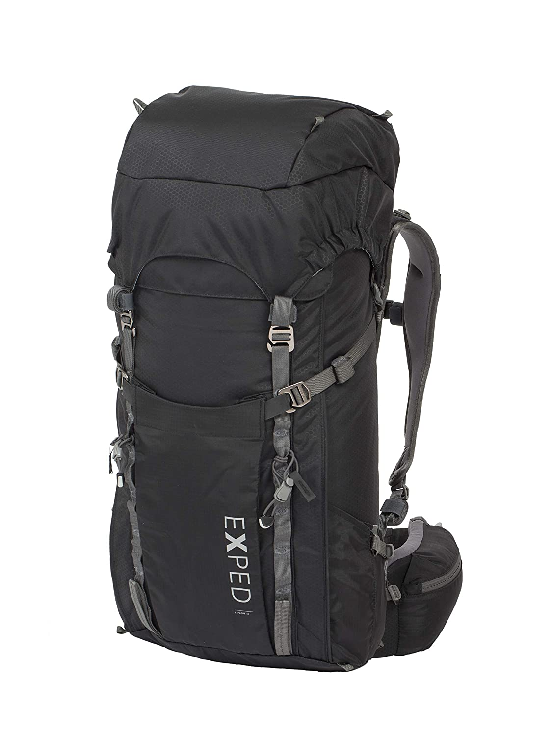 a8deefd15fc7 Amazon.com : Exped Explore 45 Backpacking Pack, 45L, Black : Sports ...