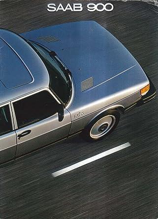 1981 Saab 900 S Turbo sales brochure