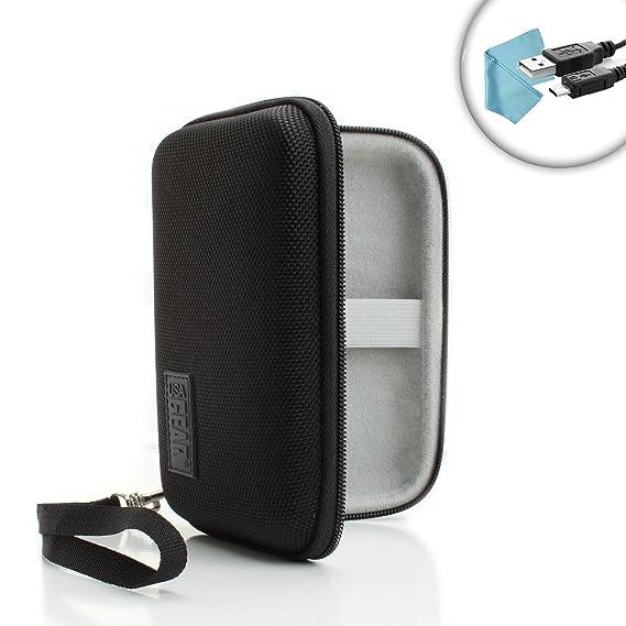USA Gear Universal Hard Shell Smartwatch Fitness Tracker Case Works Apple Watch, Pebble Steel, Sony SmartWatch 3 More