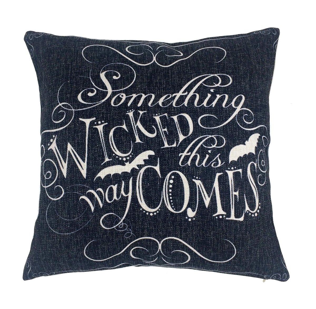 Emotion Something Wicked Chalkboard Halloween Throw
