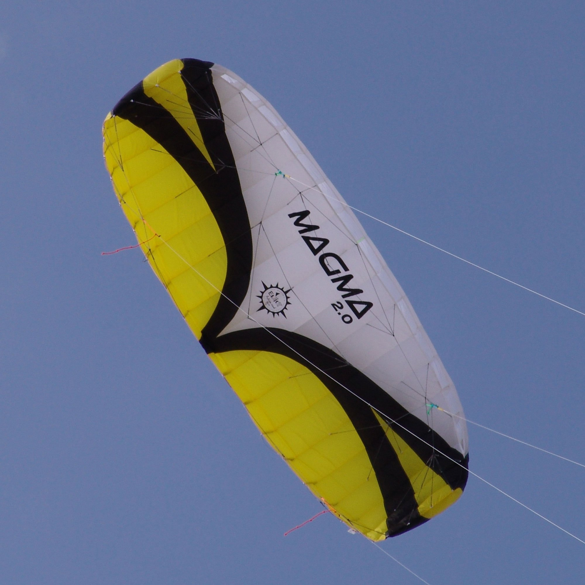 Magma 2.0 Quad Line Power Foil Stunt Kite by Elliot