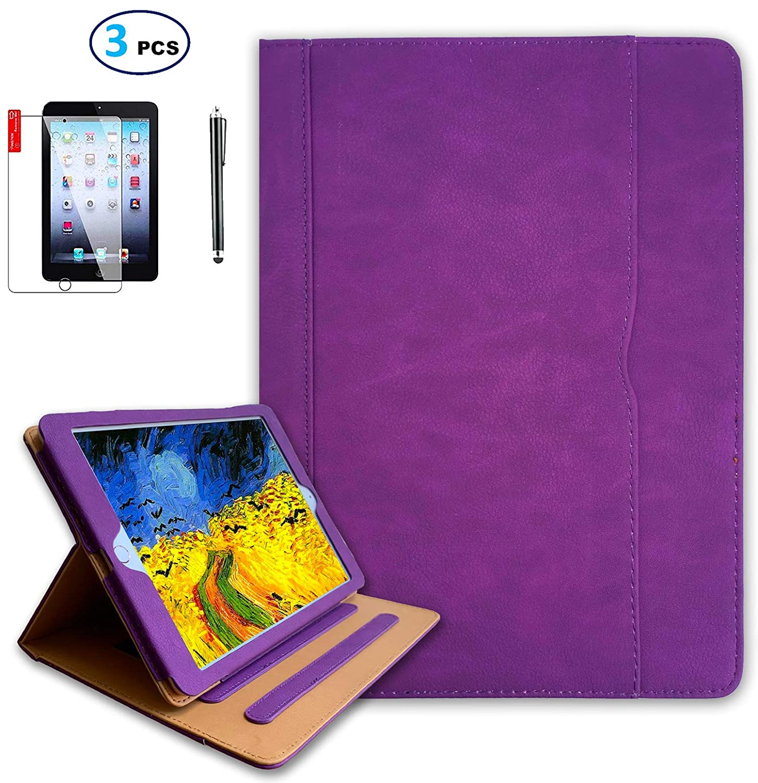 最安 iPad 9.7インチ 2018 B07LC165P7 2017 Air2 Air1 A1823 ケース スクリーンプロテクターとスタイラス付き - ケース iPad 第5世代 第6世代ケース - ハンドストラップ オートスリープ解除 マルチアングルスタンド A1822 A1823 A1474 A1475 A1566 A1567 (パープル) B07LC165P7, 九州うまいもん屋 芋蔵:28706cf4 --- a0267596.xsph.ru